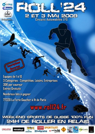 Roll'24 : Le week-end incontournable de sport de glisses ! Affiche%20roll24